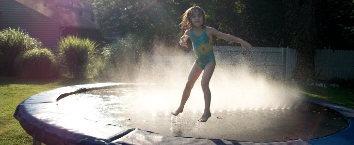 Do Sprinklers Ruin Trampolines