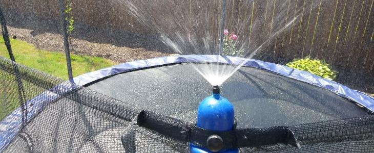 trampoline sprinkler system