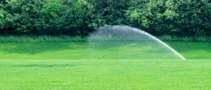 best sprinkler for windy areas