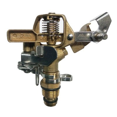MPLUS Heavy Duty Brass Impact Sprinkler