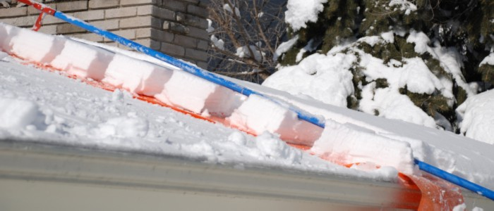 best snow rakes for the roof