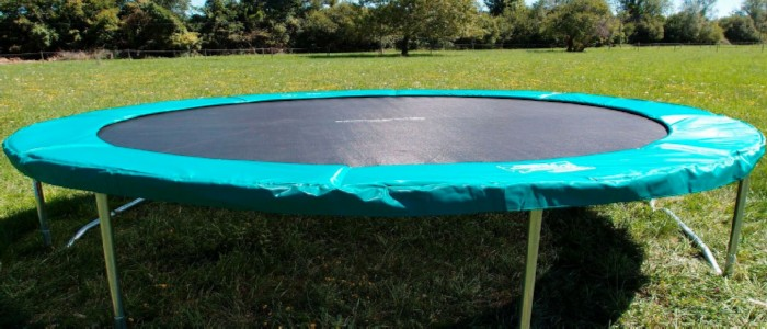 best trampolines that fold away